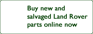 Buy Salvaged Land Rover Parts Online Now