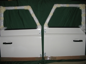 Picture of Defender Front Doors New Take off