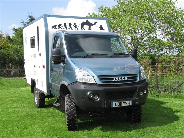 the lanny doctor iveco 4x4 expedition camper. Black Bedroom Furniture Sets. Home Design Ideas
